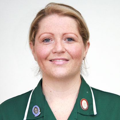 Sarah Hodge, Head Nurse, Chestergates Veterinary Specialists